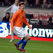 NLD/Amsterdam/20061115 - Voetbal, Nederland - Engeland, Klaas Jan Huntelaar