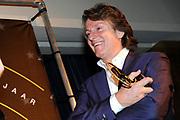 AVRO Radiogala 2011 in het Stadhuis van Hilversum.<br /> <br /> Op de foto: Erik de Zwart