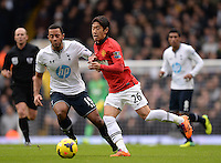 Manchester United's Kagawa in action