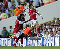 Photo: Olly Greenwood.<br />Tottenham Hotspur v Arsenal. The FA Barclays Premiership. 15/09/2007. Arsenal's Francesc Fabregas celebrates scoring