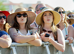 02 May 2015. New Orleans, Louisiana.<br /> The New Orleans Jazz and Heritage Festival. <br /> Ed Sheeran wows fans at the Gentilly stage.<br /> Photo; Charlie Varley/varleypix.com
