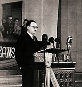 Boles?aw Bierut 1892 - 1956. Polish Communist leader. President of Poland 1947 – 1952