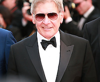 Actor Harrison Ford at the The Expendables 3 red carpet at the 67th Cannes Film Festival France. Sunday 18th May 2014 in Cannes Film Festival, France.