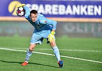 Fotball , 16. juni 2019, Eliteserien , Mjøndalen - Kristiansund 1-1<br /> Sean Mcdermott , KBK