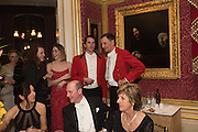 LADY VIOLET MANNERS; OTIS FERRY, Charlton Hunt Ball at Goodwood House.  6 February 2016