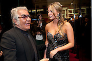 ROBERTO CAVALLI HOLLY VALANCE, Party to celebrate the launch of the new Cavalli Store. Roberto Cavalli. Sloane st. London. 17 September 2011. <br /> <br />  , -DO NOT ARCHIVE-© Copyright Photograph by Dafydd Jones. 248 Clapham Rd. London SW9 0PZ. Tel 0207 820 0771. www.dafjones.com.