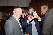 JAKE MILLER; GARY WEBB, Rocco Forte's Brown's Hotel Hosts 175th Anniversary Party, Browns Hotel. Albermarle St. London. 16 May 2013