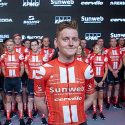 10-12-2019: Wielrennen: Teampresentatie Sunweb: Amsterdam