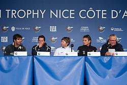Nice, France, November 12th 2009. Louis Vuitton Trophy  Nice (7-22 November 2009) © Sander van der Borch / team Artemis. Onboard with team Artemis.