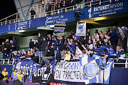 October 1, 2018 - Troyes, France - ILLUSTRATION - SUPPORTERS - DRAPEAUX (Credit Image: © Panoramic via ZUMA Press)