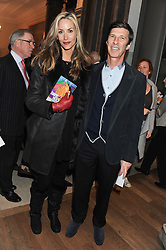 LISA BUTCHER and MICHAEL JACOBSON at a private view to celebrate the opening of the Royal Academy's exhibition of work by David Hockney held at The Royal Academy, Burlington House, Piccadilly, London on 17th January 2012.