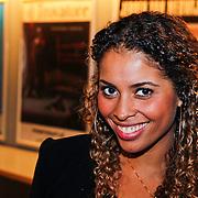 NLD/Amsterdam/20101010 - Premiere soloprogramma Lange Frans in concert, Laurette Gerards