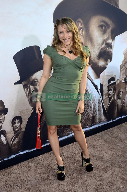 May 14, 2019 - Los Angeles, CA, USA - LOS ANGELES - MAY 14:  Alexandra Vino at the ''Deadwood'' HBO Premiere at the ArcLight Hollywood on May 14, 2019 in Los Angeles, CA (Credit Image: © Kay Blake/ZUMA Wire)