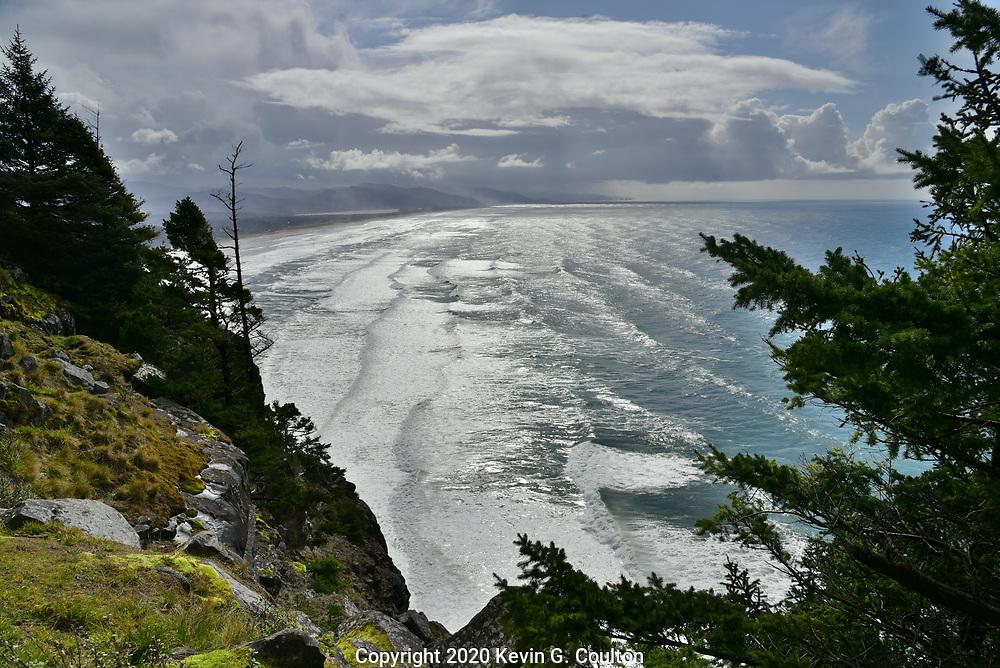 Cape Meares & Manzanita, Oregon from Neahkahnie Viewpoint