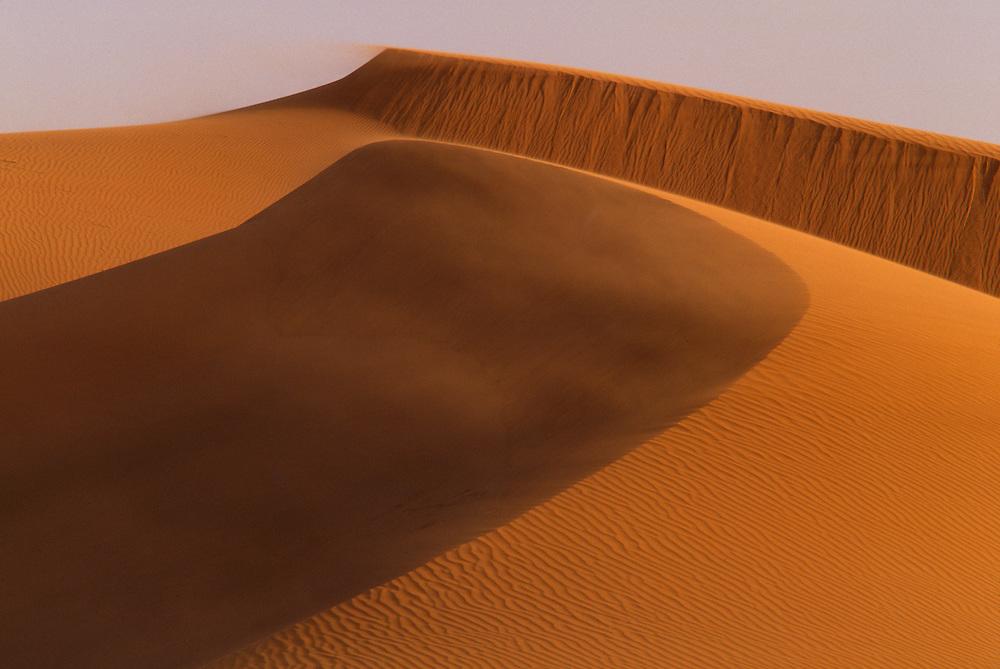 Africa, Morocco, giant sand dunes near Tinfou