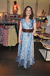HAYLEY ATWELL at a party to celebrate the launch of the Matthew Williamson collection at H&M held at the H&M store, Regent Street, London on 22nd April 2009.