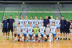 Team of Slovenia during friendly volleyball match between Slovenia and Azerbaijan, on August 17, 2017 in SRC Stozice, Ljubljana, Slovenia. Photo by Matic Klansek Velej / Sportida