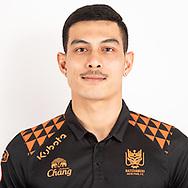 THAILAND - JUNE 24: Pairot Eammak #53 of Ratchaburi Mitr Phol FC on June 24, 2019.<br /> .<br /> .<br /> .<br /> (Photo by: Naratip Golf Srisupab/SEALs Sports Images/MB Media Solutions)