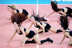06.09.2014, Jahrhunderthalle, Breslau, POL, Venezuela vs Serbien, Gruppe A, im Bild CHEERLEADERKA, CHEERLEADERS FLEX SOPOT CHEERLEADERKI TANIEC WYSTEP ARTYSTYCZNY // during the FIVB Volleyball Men's World Championships Pool A Match beween Uenezuela and Serbia at the Jahrhunderthalle in Breslau, Poland on 2014/09/06. <br /> <br /> ***NETHERLANDS ONLY***