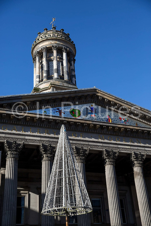 The Gallery of Modern Art at Royal Exchange Square on the 2nd November 2018 in Glasgow in the United Kingdom. The Gallery of Modern Art is the main gallery of contemporary art in Glasgow.