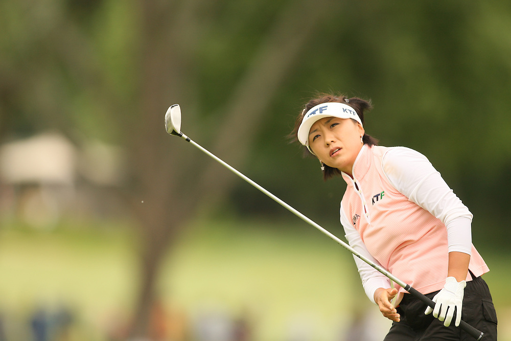 M i Hyun Kim during the third round of the 2008 United States Women's Open Championship at Interlachen Country Club in Edina, Minnesota on Saturday, June 28, 2008. .