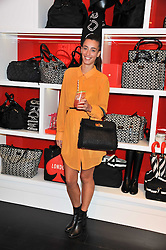 LAURA JACKSON at the opening of the Kate Spade New York Store, 2 Symons Street, London on 1st September 2011.