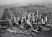 USA, New York, New York City, Aerial view of Manhattan --- Image by © SuperStock/Corbis
