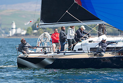 Pelle P Kip Regatta 2019 Day 1<br /> <br /> Light and bright conditions for the opening racing on the Clyde keelboat season<br /> GBR4822R, El Gran Senor, Jonathan Anderson, CCC, J122E