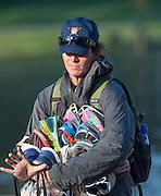 Amsterdam. NETHERLANDS. Laurel KORHOLZ, Assistant Women's Coach, USRowing Women's Squad, 2014 FISA  World Rowing. Championships.  De Bosbaan Rowing Course . 08:15:18  Thursday  21/08/2014  [Mandatory Credit; Peter Spurrier/Intersport-images]