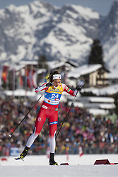 February 21, 2019 - Seefeld In Tirol, AUSTRIA - 190221 Kristine StavÃ¥s Skistad of Norway competes in women's cross-country skiing sprint qualification during the FIS Nordic World Ski Championships on February 21, 2019 in Seefeld in Tirol..Photo: Joel Marklund / BILDBYRÃ…N / kod JM / 87879 (Credit Image: © Joel Marklund/Bildbyran via ZUMA Press)