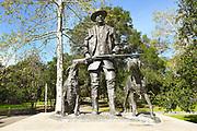 James Irvine Statue at Irvine Regional Park