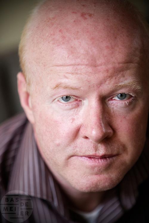 Sportverslaggever Bert Maalderink.<br /> <br /> Sports reporter Bert Maalderink.