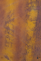 abstract of the side of an old freight car in New Mexico