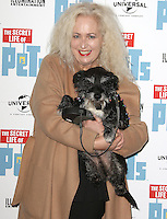 Debbie Douglas, The 'Petmiere' of The Secret Life of Pets to mark the UK DVD Release, Prince Charles Cinema, London UK, 12 November 2016, Photo by Brett D. Cove