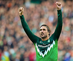 16.10.2010, Weser Stadion, Bremen, GER, 1.FBL, Werder Bremen vs SC Freiburg im Bild  2:1 Hugo Almeida ( Werder #23 )   EXPA Pictures © 2010, PhotoCredit: EXPA/ nph/  Kokenge+++++ ATTENTION - OUT OF GER +++++