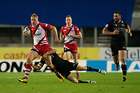 Rugby League - 2020/2021 Coral Challenge Cup - Quarter-final - Catalan Dragons vs Salford Red Devils<br /> <br /> Salford Red Devils's James Greenwood in action, at the TW Stadium.<br /> <br /> COLORSPORT/TERRY DONNELLY