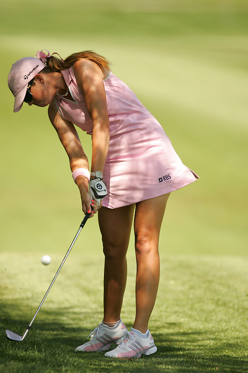 Paula Creamer.2007 Kraft-Nabisco Championship.Second Round.Mission Hills CC.Dinah Shore Course.Rancho Mirage, CA.Friday, March 30 2007.03/30/07.Photograph by Darren Carroll
