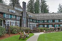 Lake Quinalt Lodge Olympic National Park