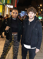 Eyal Booker,Samira Mighty at the BOUX AVENUE x MEGAN MCKENNA LAUNCH EVENT