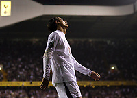 Photo: Paul Thomas.<br /> Tottenham Hotspur v Sevilla. UEFA Cup. Quarter Final, 2nd Leg. 12/04/2007.<br /> <br /> Dejected Spur Dimitar Berbatov.