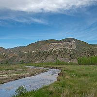 Slaughter Creek flows through the PN Ranch in the Upper Missouri River Breaks in central Montana.