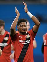 Schlussjubel Leon Bailey (Leverkusen)<br /> Leverkusen, 28.01.2018, Fussball Bundesliga, Bayer 04 Leverkusen - 1. FSV Mainz 05 2:0<br /> <br /> Norway only