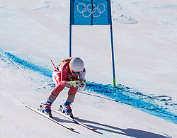 February 17, 2018 - PyeongChang, South Korea -  CORINNE SUTER of Switzerland during Alpine Skiing: Ladies Super-G at Jeongseon Alpine Centre at the 2018 Pyeongchang Winter Olympic Games. (Credit Image: © Patrice Lapointe via ZUMA Wire)
