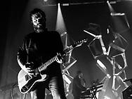 Justin Lockey of British indie-rock band Editors at Schlachthof Wiesbaden
