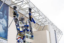 A general view (GV) of the Billy Bremner statue outside Elland Road - Mandatory by-line: Daniel Chesterton/JMP - 15/02/2020 - FOOTBALL - Elland Road - Leeds, England - Leeds United v Bristol City - Sky Bet Championship