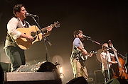 Mumford and Sons performing at the Pageant in St. Louis on June 5, 2011.