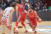 DESCRIZIONE : Milano Lega A 2015-16 Olimpia EA7 Emporio Armani Milano Giorgio Tesi Group Pistoia<br /> GIOCATORE : Krunoslav Simon<br /> CATEGORIA : Palleggio blocco<br /> SQUADRA : Olimpia EA7 Emporio Armani Milano<br /> EVENTO : Campionato Lega A 2015-2016<br /> GARA : Olimpia EA7 Emporio Armani Milano Giorgio Tesi Group Pistoia<br /> DATA : 01/11/2015<br /> SPORT : Pallacanestro <br /> AUTORE : Agenzia Ciamillo-Castoria/I.Mancini<br /> Galleria : Lega Basket A 2015-2016 <br /> Fotonotizia : Milano  Lega A 2015-16 Olimpia EA7 Emporio Armani Milano Giorgio Tesi Group Pistoia<br /> Predefinita :