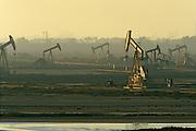 Oil Drilling Pumps Bolsa Chica Wetlands Huntington Beach