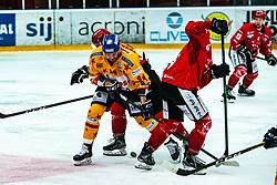 Tessari Matteo Alps League Ice Hockey match between HDD SIJ Jesenice and Migross Supermercati Asiago Hockey on April 17, 2021 in Ice Arena Podmezakla, Jesenice, Slovenia. Photo by Peter Podobnik / Sportida