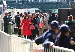 17/07/2017 <br /> Minister of Communications Nomvula Mokwenyane is seen entering the Nelson Mandela Annual Lecture that will be delievered by the Former President of America Barack Obama at Wanderers Stadium, Johannesburg.<br /> Picture: Nhlanhla Phillips/African News Agency/ANA